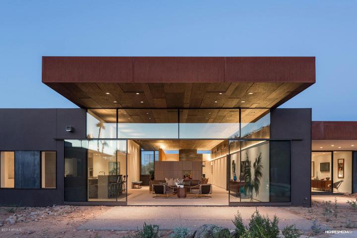 Modern homes for sale tempe az home modern for Modern homes arizona